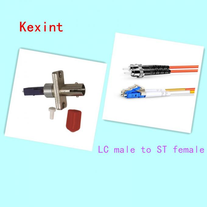 Single Mode Fiber Optic Adapters  Kit Fiber LC To ST Adapter Easy Handle