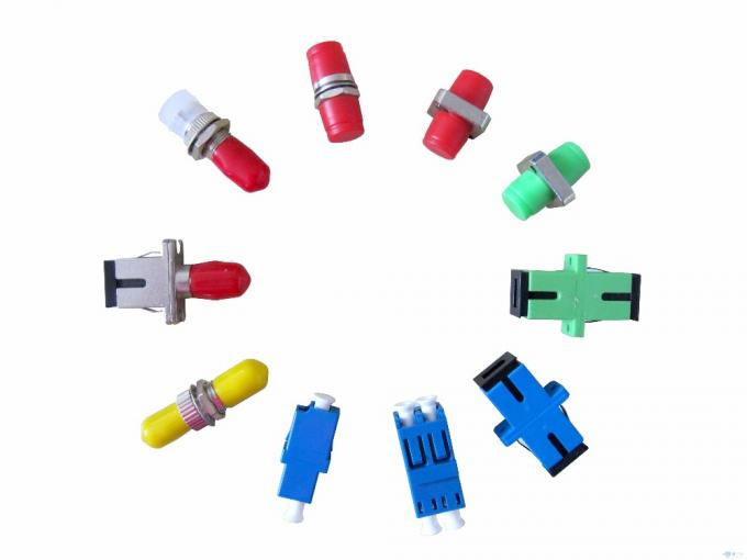 Single Mode To Multimode Fiber Optic Adapters FC Fiber Coupler 60db Insertion Loss