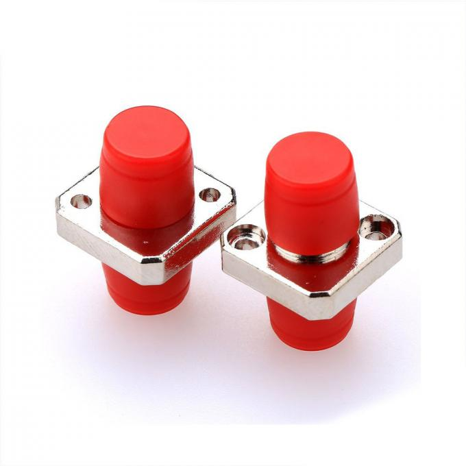 Small FC Fiber Optic Adapters D Type Square Shape CATV Network Support