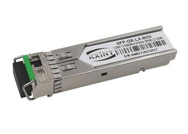 China 1.25 Gigabit Ethernet Fiber Optic SFP Module LC SX Transceiver 1 Pairs Lot  20km T1550 R1310nm supplier