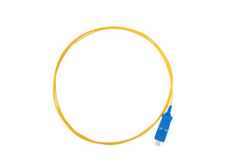 China FC To LC Single Mode To Multimode Fiber Patch Cord Pigtail 0.9mm OM1 OM2 supplier