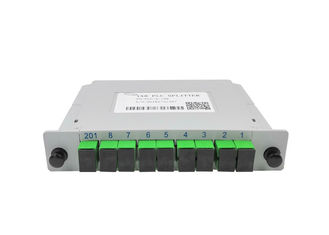 China Fast 1x8 PLC Splitter Fibre Separation , Single Mode Fiber Splitter LGX supplier
