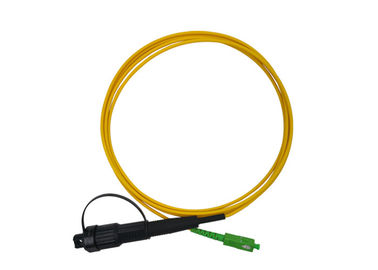 China 3m Waterproof  Fiber Optic Patch Cord SC APC 3.0mm Huawei Water Poof Connector IP68 supplier