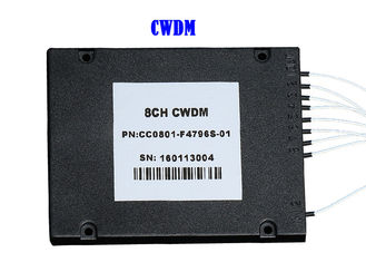 China 8CH 16CH 32CH CWDM DWDM Fiber Mux Demux Module Optic ABS 1260 ~ 1620 dB supplier