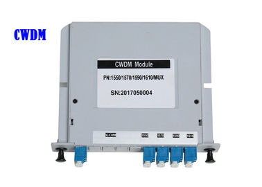 China CWDM Optical WDM LGX Rack Wavelength Division Multiplexing In Optical Fiber supplier