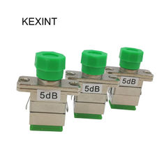 China SC FC Fixed Optical Attenuator Low PDL FTTX Network Telecommunciation supplier