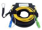 Mini OTDR Launch Fiber Optic Tools Testing Box SC LC FC 500 Meter Fault Location E2000