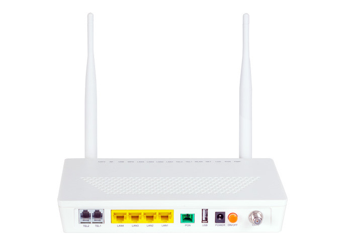 Ethernet 4 Gigabit GEPON ONU 1 USB  4GE 2POTS WIFI CATV Support IPv4 and IPv6 dual stack