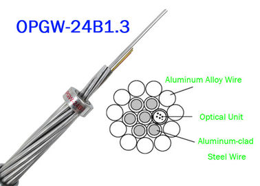 China OPGW ADSS Fiber Optic Cable 24B1.3 Range 60 130 Power Telecommunication Outer material Metal wires factory