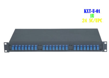 China Optic Cable 24 Port Patch Panel Rack Mount Network Computer Room Support distributor