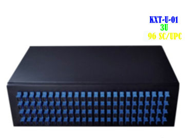 China Domestic ODF Fiber Optic Patch Panel Rack Mount 3U 96 Cores Digital Durable factory
