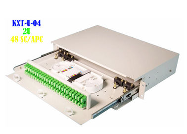 China Blank Rack Mount Fiber Patch Panel Termination 6.7kg Separate Insulation distributor