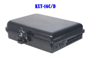 China Cable Fiber Optic Distribution Box ABS PC Wall Hanging Pole Installation factory