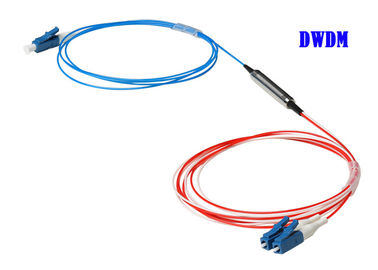 China Fiber Mux Demux Module Optic WDM Equipment 1270 ~ 1610nm High Channel Isolation factory