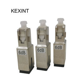 5DB Fiber Optic Attenuator Female To Male 6db Testing Equipment Support