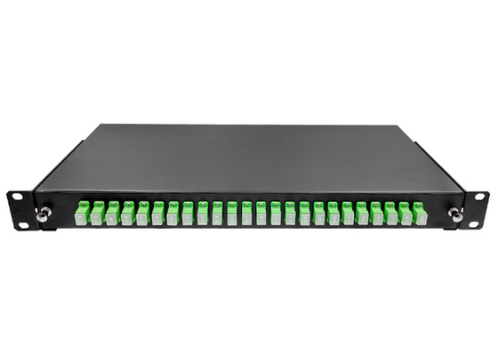 China SC/APC ODF Rack Fiber Patch Panel 24 Ports 1U 19 Inch Standard Frame Type Pull - Out factory