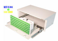 Electrical Rack Fiber Patch Panel Box , 144 Port Fiber Patch Panel 4U