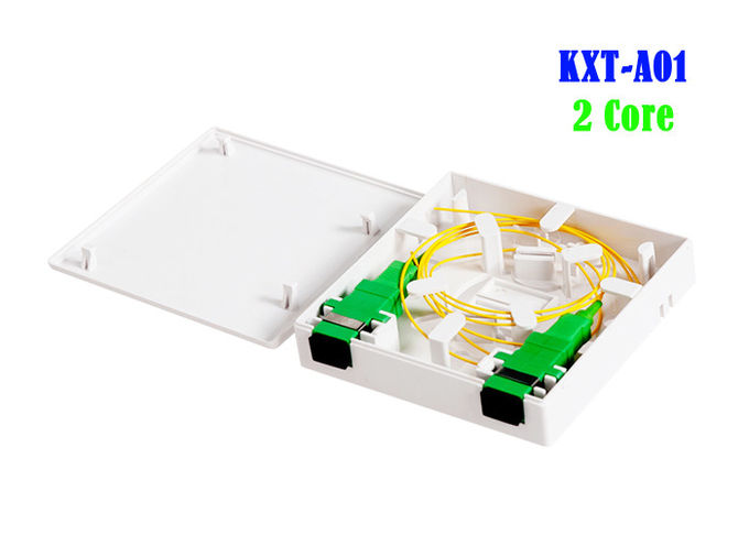 Outdoor Fiber Optic Cable Joint Box Multi Functional FTTH 86 ABS PC Material