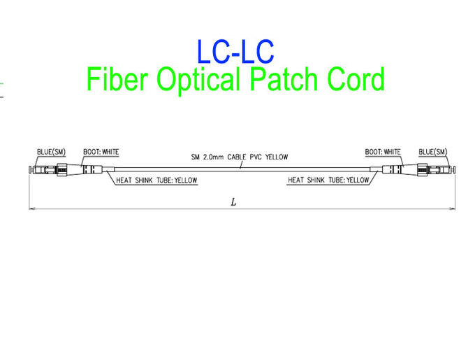Waterproof Optical Patch Cord SC/APC LC To SC Single Mode LSZH G657A2 HUAWEI Armour IP68 6